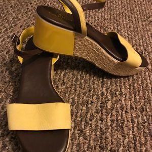 Cole Haan sandals/wedges